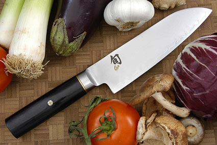 Shun Elite Santoku Knife - 6 1/2 in. (SG-0403)