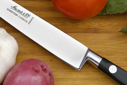 Sabatier Slicing Knife - 8 in. (Carbon Steel)