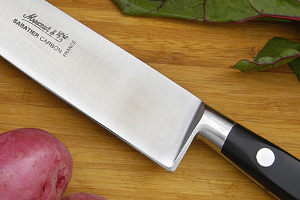 Sabatier Chef's Knife - 8 in. (Carbon Steel)