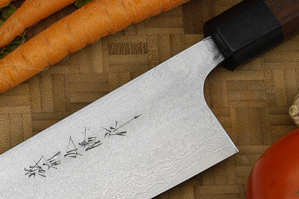Asai Damascus Chef's Knife - Gyuto - 11 in. (270mm)