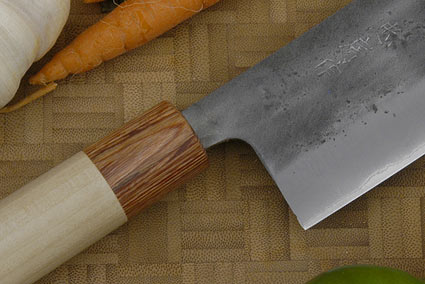 Nashiji Vegetable Knife (Nakiri) - 6 1/2 in. (165mm)