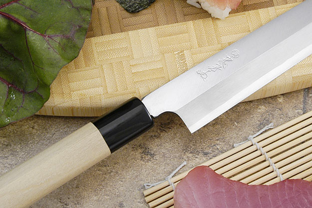 Tadafusa Shirogami Professional Right-Handed Sashimi Hocho - 10 2/3 in. (270mm)