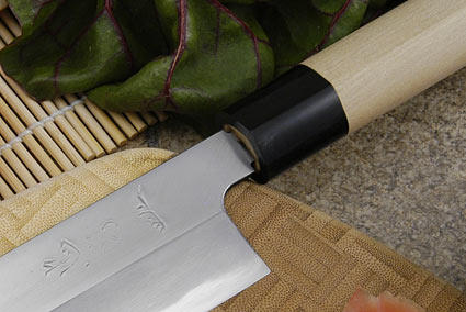 Tadafusa Aogami Professional Left-Handed Usuba - 7 1/8 in. (180mm)