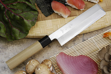 Tadafusa Aogami Professional Right-Handed Usuba - 7 1/8 in. (180mm)