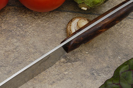 HCK Chef's Knife with Redwood Burl - 8 in.