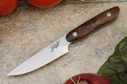 HCK Paring Knife with Curly Koa - 3 3/4 in.