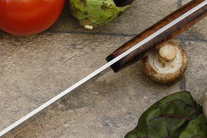 HCK Chef's Knife with Curly Koa - 10 1/4 in.