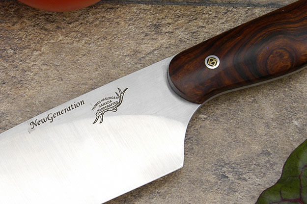 HCK Chef's Knife with Desert Ironwood - 8 1/4 in.