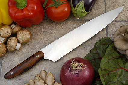 HCK Chef's Knife with Desert Ironwood - 10 1/4 in.