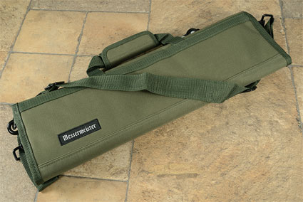 8 Pocket Knife Roll, Olive (2066-8/OL)