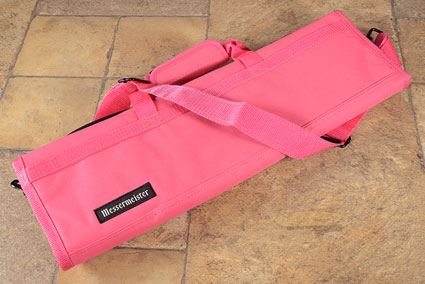 8 Pocket Knife Roll, Pink (2066-8/P)