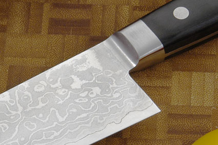 Damascus Santoku, 165mm (6 1/2 in)