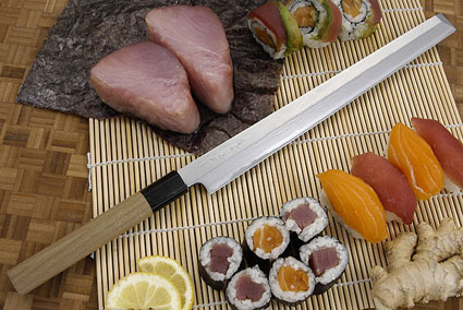 Suminagashi Takohiki, Octopus Slicer, 270mm (10 2/3 in) (F-1011)