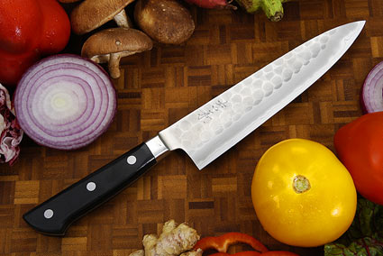 Hammer Finished Chef's Knife - Gyuto, Western - 7 1/8 (180mm)