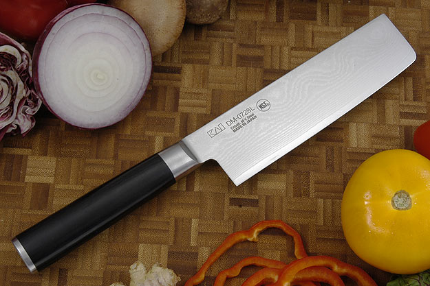 Shun Classic Chef's Knife/Vegetable Cleaver - Nakiri - 6 1/2 in. - Left Handed (DM0728L)