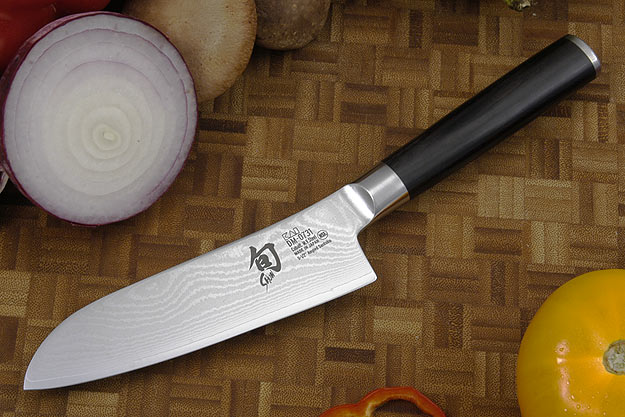 Shun Classic Santoku Knife - 5 in., Alton's Angle (DM0731)
