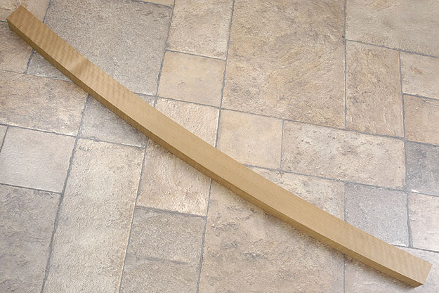 Seasoned Ho Wood For Katana Shirasaya, Presentation Grade
