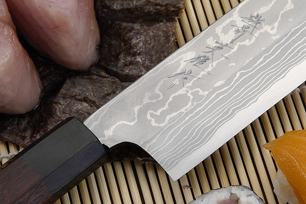 Suminagashi Usuba (Vegetable Cleaver), 180mm (7 1/8 in)