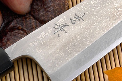 Suminagashi Right-Handed Deba Hocho - 180mm (7 1/8 in.)