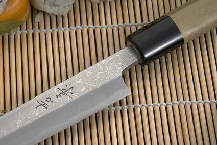 Suminagashi Left-Handed Yanagiba (Sashimi Knife) - 210mm (8 1/4 in.)