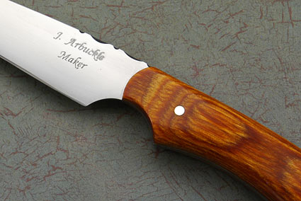 Arbuckle Fine Point Slicer with Orange Dymondwood (5 1/3 in.)