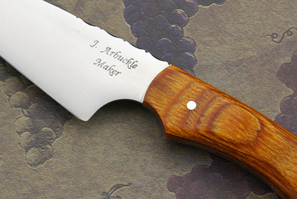 Wharncliffe Slicer with Orange Dymondwood (4 2/3 in.)