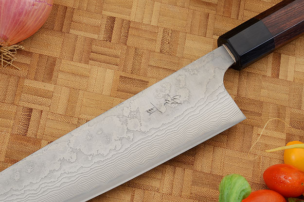 Asai PM Damascus Chef's Knife - Gyuto - 8 1/2 in. (210mm)