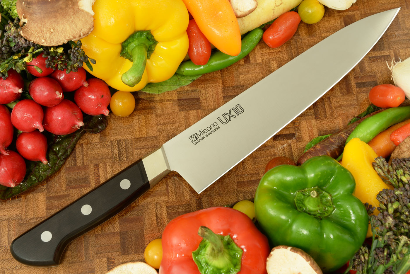 UX10 Chef's Knife - Gyuto - 9 1/2 in. (240mm) No. 713