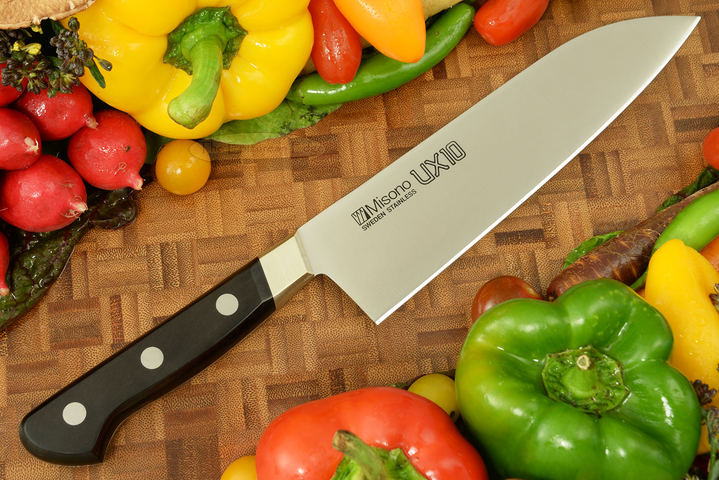 UX10 Chef's Knife - Santoku - 7 1/8 in. (180mm) - No. 711