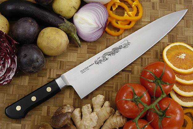 Misono Carbon Steel Chef's Knife - Gyuto - 11 3/4 in. (300mm) - No. 115