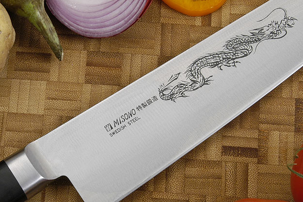 Misono Carbon Steel Chef's Knife - Gyuto - 9 1/2 in. (240mm)  - No. 113