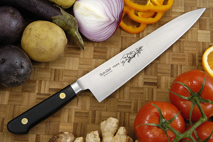 Misono Carbon Steel Chef's Knife - Gyuto - 8 1/4 in. (210mm)  - No. 112