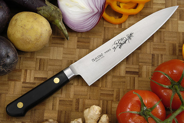 Misono Carbon Steel Chef's Knife - Gyuto - 7 1/8 in. (180mm) - No. 111