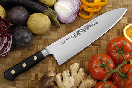 Misono Carbon Steel Chef's Knife, Heavy - Gyuto Deba - 9 1/2 in. (240mm)  - No. 152