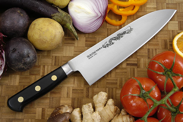 Misono Carbon Steel Chef's Knife, Heavy - Gyuto Deba - 8 1/4 in. (210mm) - No. 151