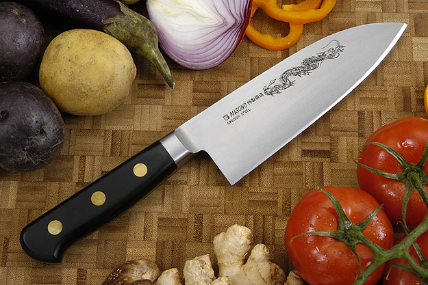 Misono Carbon Steel Chef's Knife, Heavy - Gyuto Deba - 6 1/2 in. (165mm) - No. 150