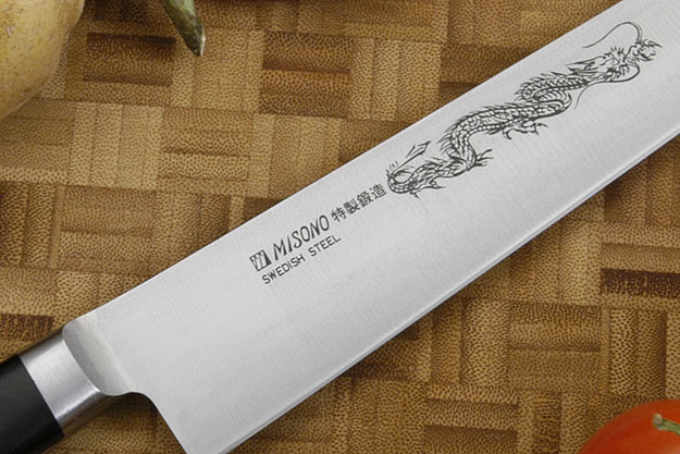 Misono Carbon Steel Slicer - Sujihiki - 10 3/4 in. (270mm) - No. 122