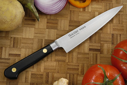 Misono Carbon Steel Utility Knife - Fruit Knife - 5 1/4 in. (130mm) - No. 132