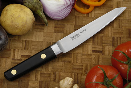 Misono Carbon Steel Boning Knife - Hankotsu - 5 3/4 in. (145mm) - No. 142