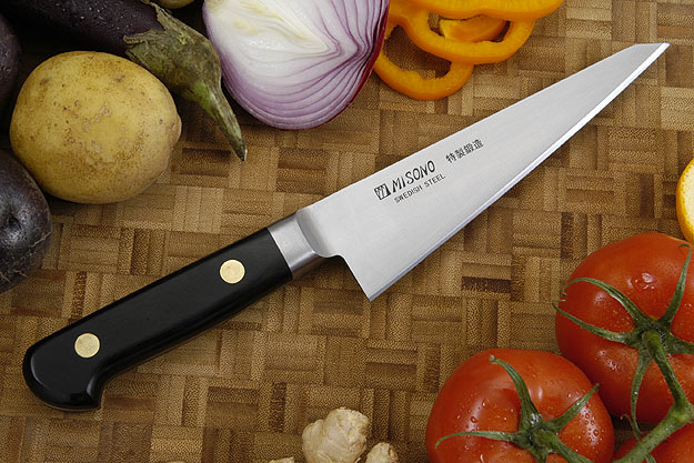 Misono Carbon Steel Boning Knife - Honesuki - 6 1/2 in. (165mm) - No. 145