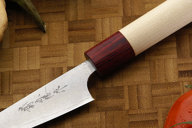 Asai Enji Damascus Paring Knife (Petty) - 3 3/4 in. (95mm)