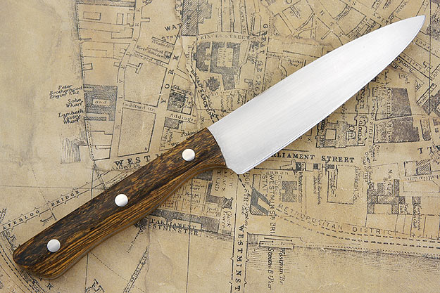 Utility/Slicing Knife with Bocote, 5 1/8 in