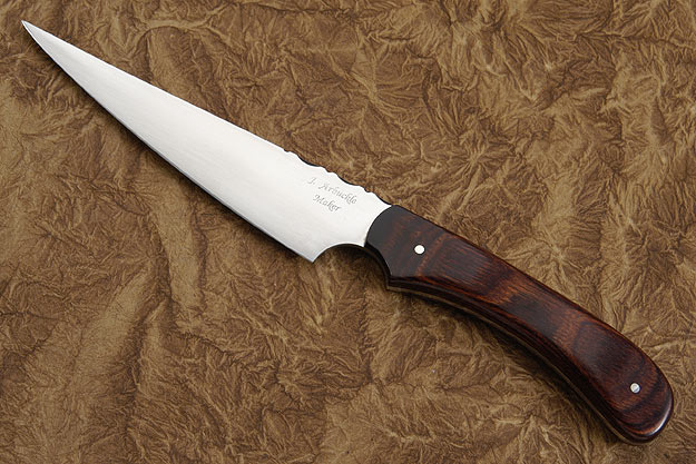 Arbuckle Fine Point Slicer with Rosewood Dymondwood (5 1/3 in.)