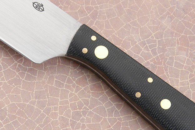 Mini-Santoku with Carbon Fiber (4 in)