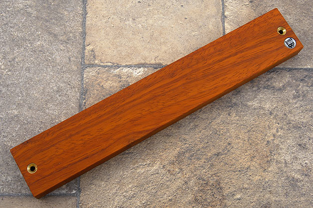 Padauk Magnetic Knife Strip (12