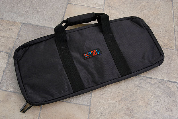 Single Compartment Knife Bag, Black (S101BK)