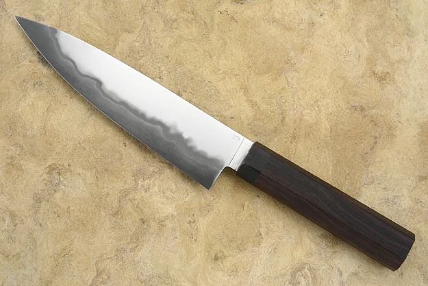 Chef's Knife (Gyuto) with Macassar Ebony (7