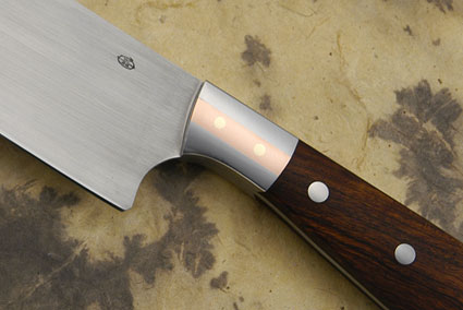 Chef's Knife with Desert Ironwood (7 1/3 in.)