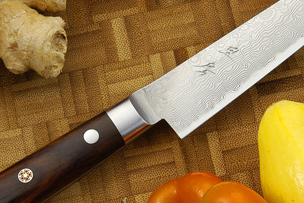 Epicurean Damascus Utility - Fruit Knife - 5 1/4 in. (135mm)