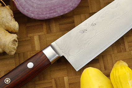 Epicurean Damascus Chef's Knife - Santoku - 6 3/4 in. (170mm)